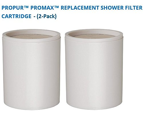Propur ProMax Replacement Shower Filter Cartridge (2-Pack)