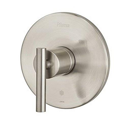 Pfister R89-1NK0 Contempra 1-Handle Tub and Shower Valve Trim, Brushed Nickel