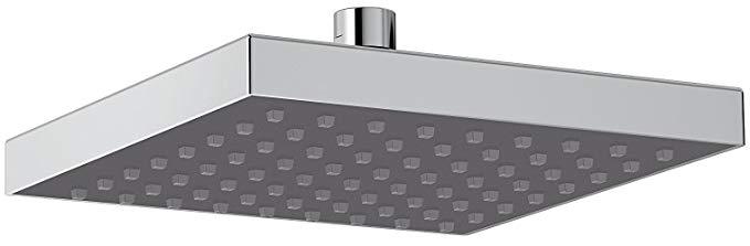 Delta Single-Spray Touch Clean Rain Shower Head, Chrome 52841