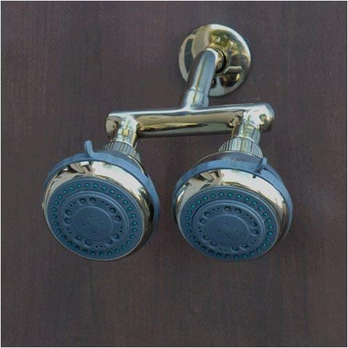 Gold Firstmate Dual Shower Heads