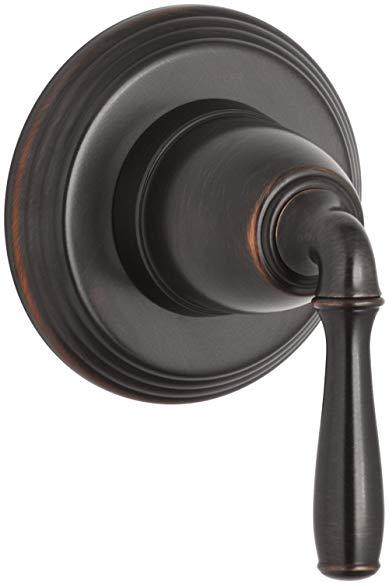 Kohler K-T376-4-2BZ Devonshire Transfer Valve Trim, Oil Rubbed Bronze
