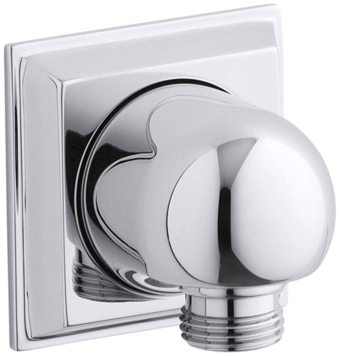 KOHLER K-427-CP Memoirs Wall-Mount Supply Elbow, Polished Chrome