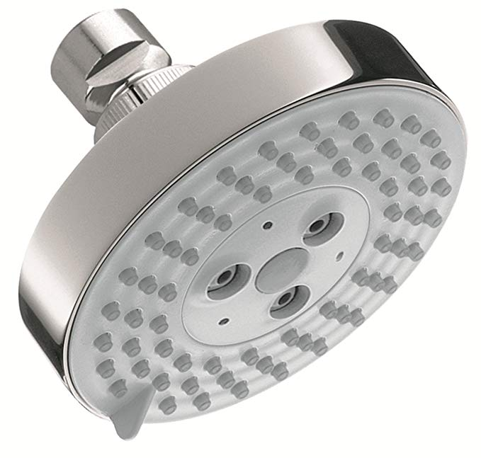 Hansgrohe 04340000 Raindance S 100 AIR 3-Jet Showerhead, Chrome