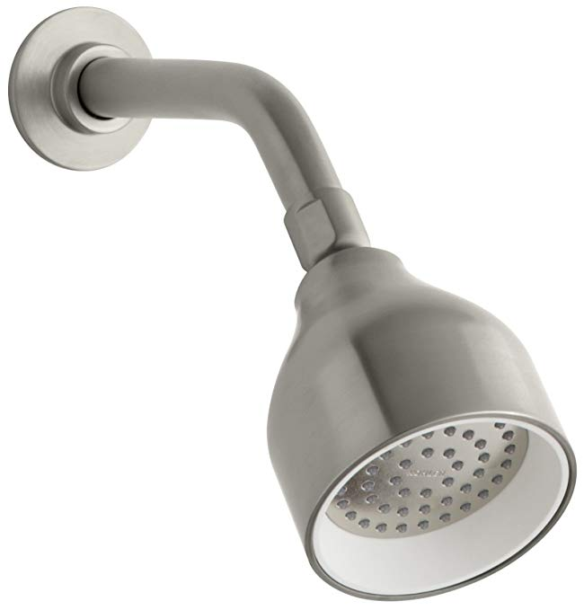 KOHLER K-8985-BN Toobi 2.0 gpm Single-Function Katalyst Showerhead, Vibrant Brushed Nickel