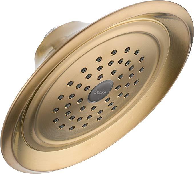 Delta RP48686CZ Single-Setting Showerhead, Champagne Bronze