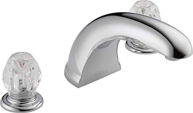 Peerless P286020 Classic Two Handle Roman Tub, Chrome
