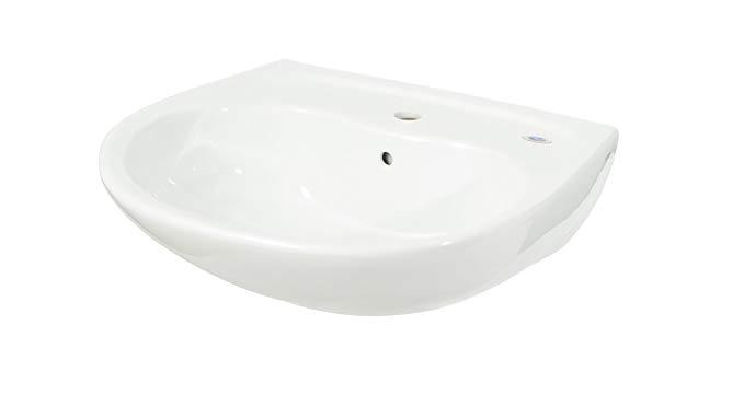 TOTO Lt241G#01 Supreme 1-Hole sanagloss Lavatory, Cotton White