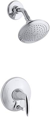 KOHLER K-T45108-4-CP Alteo Shower Trim with Push-Button Diverter, Polished Chrome