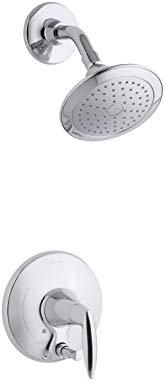 KOHLER T45108-4E-CP Alteo Shower Trim with Push-Button Diverter, Polished Chrome