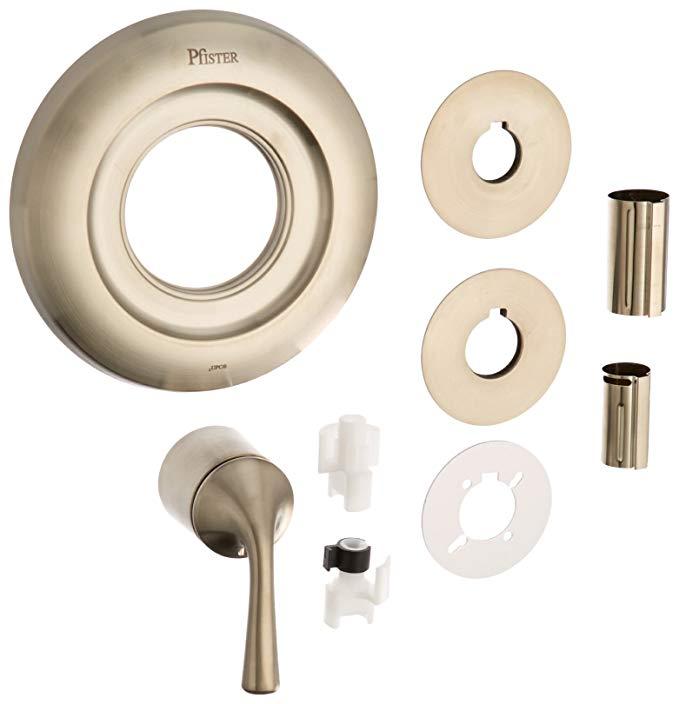Pfister Universal Trim 1-Handle Tub & Shower Valve Only Trim, Brushed Nickel