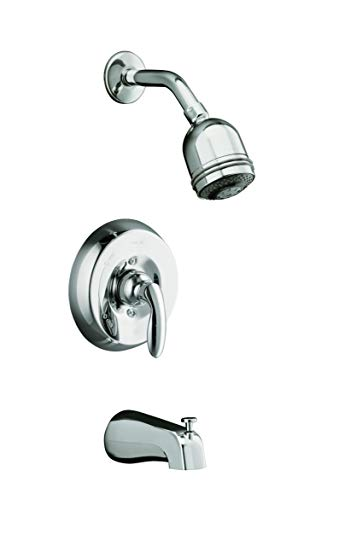 KOHLER K-T15603-4S-CP Coralais Bath and Shower Mixing Valve Faucet Trim, Polished Chrome