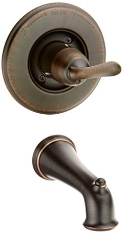 Delta T14194-RB Linden Monitor 14 Series Tub Trim Only, Venetian Bronze
