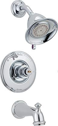 Delta T14455-LHP Victorian Monitor 14 Series Bathtub & Shower Trim without Handle, Chrome